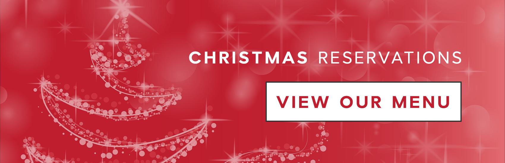 2018 Christmas Menu